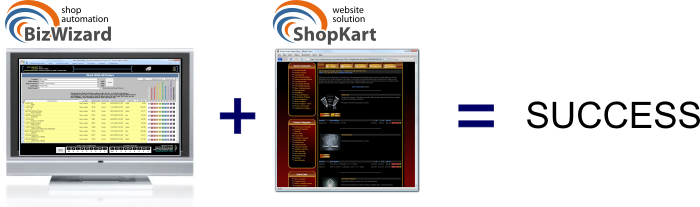 BizWizard and ShopKart equals Success