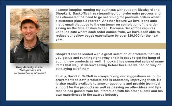I cannot imagine running my business without both Bizwizard 