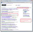 Desk Wedge Name Plates Screenshot of Google Search Rankings Results for ShopKart Awards and Trophy Shopping Cart Web Site Software