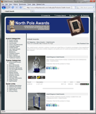 Trophy and Awards Shopping Cart Acrylic Awards Product Listing