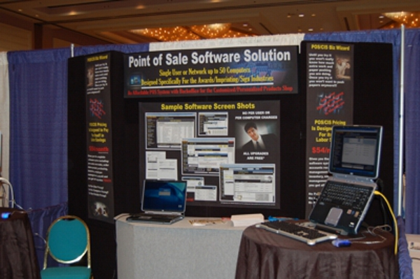 2005 Chicago Awards Show for BizWizard Order Manager exhibiting Awards and Trophy Store Order Management Software